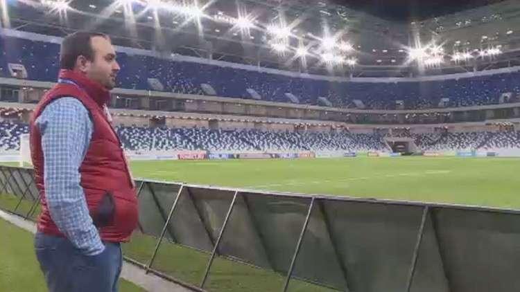 إقامة أول مباراة على ملعب كالينينغراد