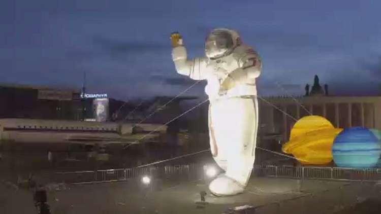 روسيا تحتفي بيوم الفضاء العالمي