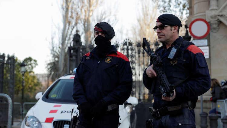 إصابات إثر دهس حافلة لمشاة في برشلونة