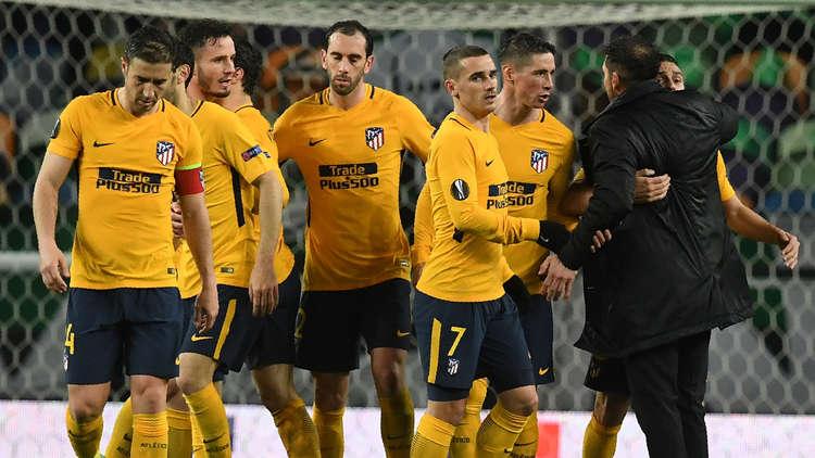 أتلتيكو مدريد يبلغ نصف نهائي