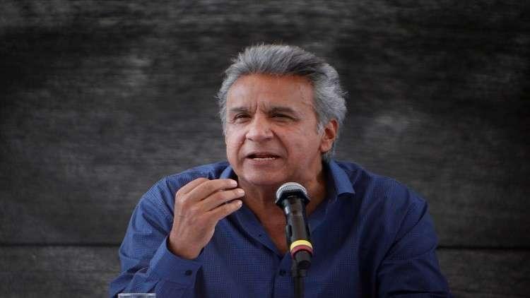 رئيس الإكوادور يغادر البيرو بشكل مفاجئ ويعود إلى بلاده