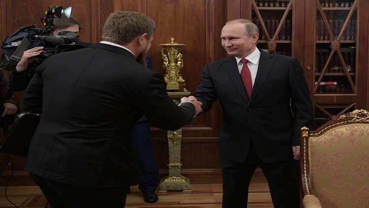 قديروف يطالب بالتمديد لبوتين لأكثر من ولايتين