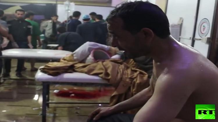 فيديو بشأن التزوير في تصوير الهجوم الكيميائي في دوما السورية