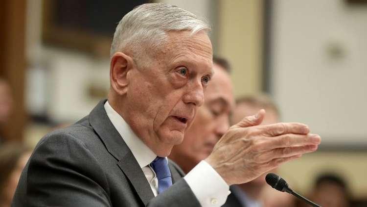 وزير الدفاع الأمريكي رفض ضرب سوريا خلال اليومين الماضيين تجنبا لمواجهة روسيا