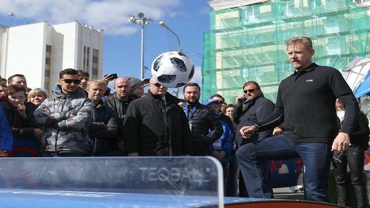"""افتتاح حديقة """"كأس العالم 2018"""" في مدينة سارانسك بمشاركة أحد الأساطير"""