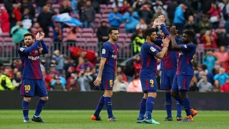 برشلونة يهزم فالنسيا ويواصل زحفه نحو لقب الليغا