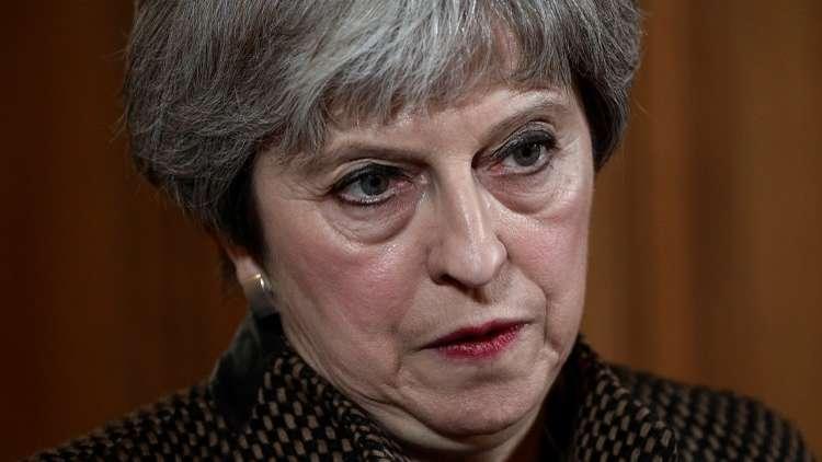 ماي تغضب البرلمان البريطاني بضرب سوريا