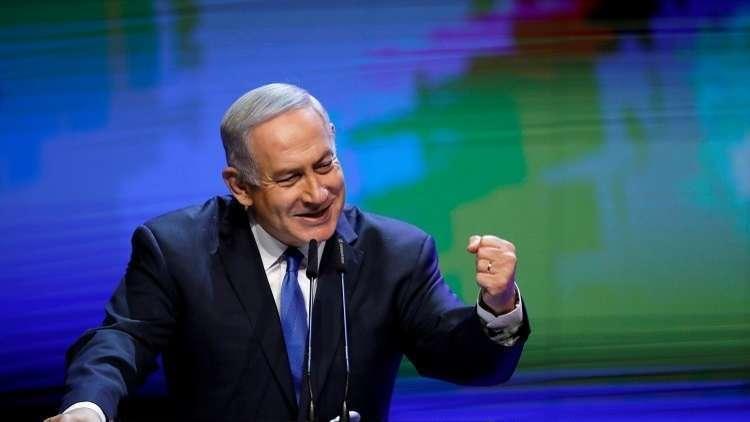 نتنياهو يشيد بالعدوان الثلاثي على سوريا ويحذر من إيران