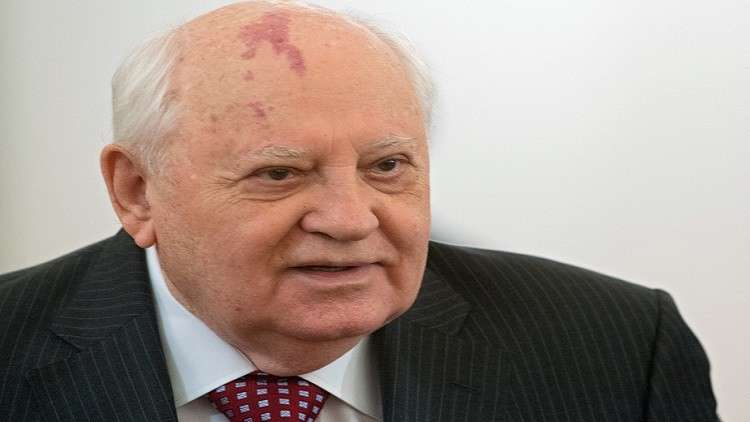 غورباتشوف: الضربة الأخيرة على سوريا تدريب على