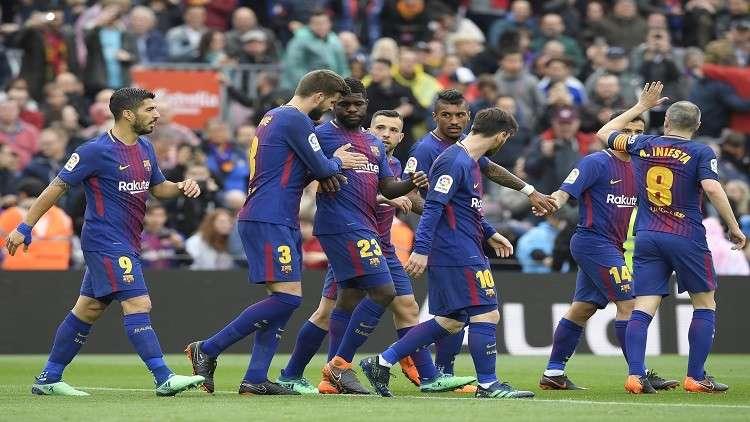 برشلونة يتجاوز الخيبة الأوروبية ويحقق رقما تاريخيا في الليغا