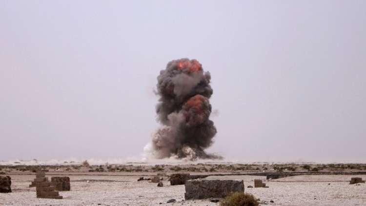 غارات للتحالف على شبكات الاتصالات في محافظة إب اليمنية