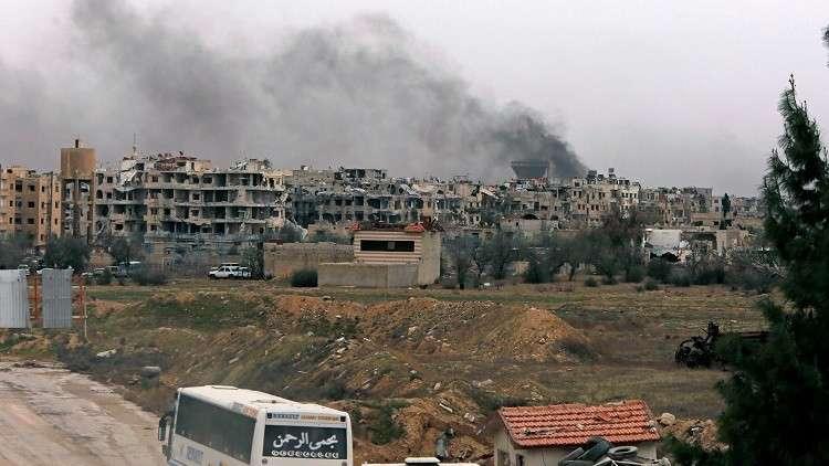 قتيل وإصابات في قصف على حي التضامن جنوبي دمشق
