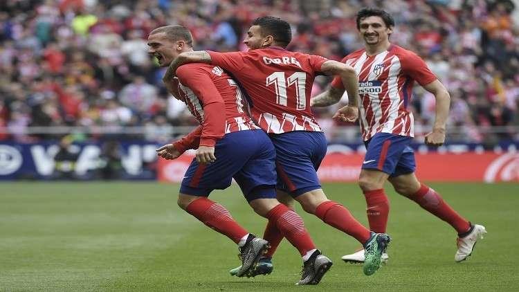 أتلتيكو مدريد يتغلب على ليفانتي ويواصل مطاردته لبرشلونة