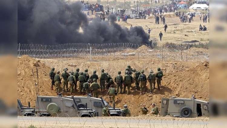 إصابة 3 فلسطينيين عند حدود غزة برصاص الجيش الإسرائيلي