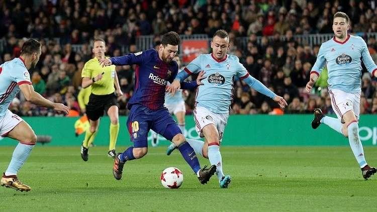 برشلونة يحل ضيفا على سيلتا فيغو لفك عقدته