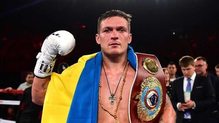 ملاكم أوكراني يرفض مواجهة روسي على أرضه