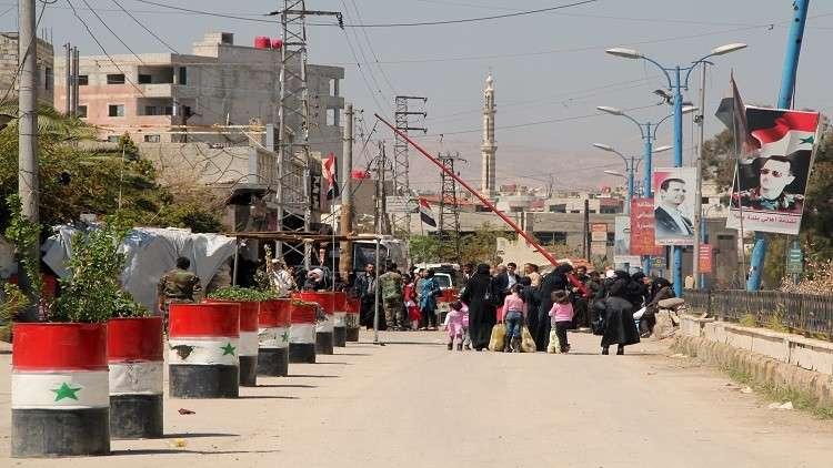 عودة 59 ألف مواطن إلى محيط دوما بريف دمشق