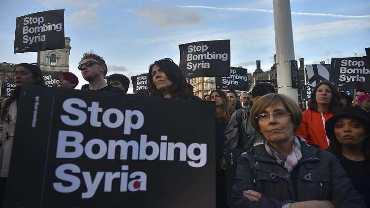 الصواريخ الأمريكية قد تسقط الحكومة البريطانية بدلا من إسقاط الأسد