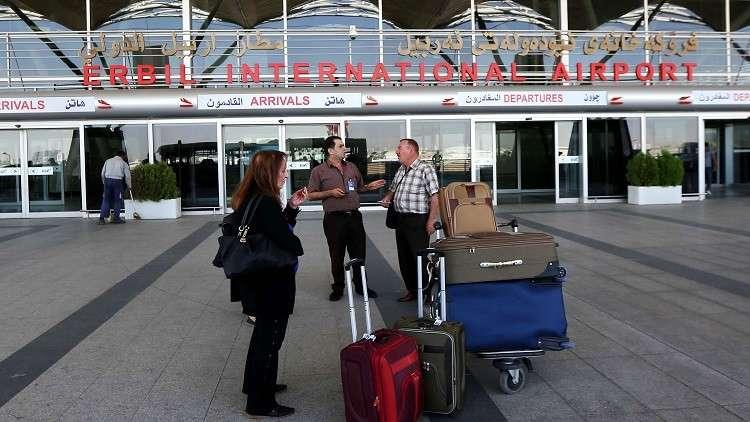 إيران تعلن استئناف الرحلات الجوية إلى أربيل في غضون أيام