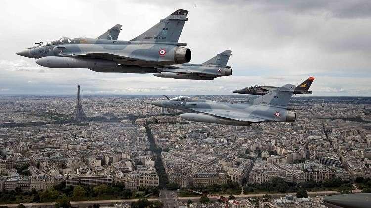 باريس: نحن من خطط للعمليات الجوية للضربة الثلاثية على سوريا