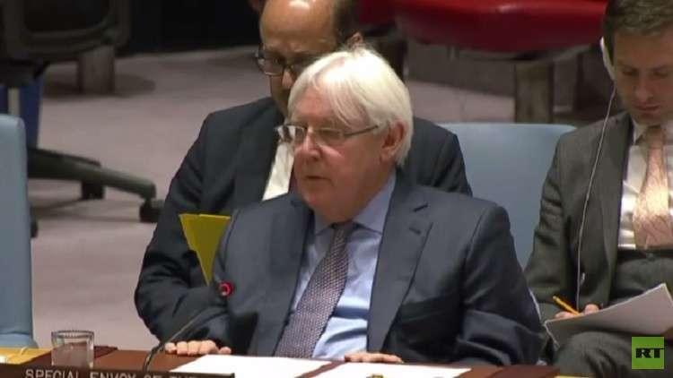المبعوث الأممي إلى اليمن: إعداد إطار للتفاوض خلال شهرين