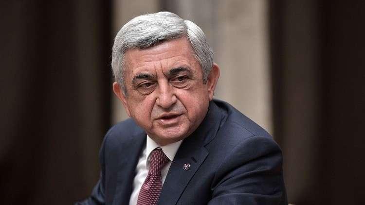 الرئيس الأرمني يصادق على تعيين الرئيس السابق رئيسا للوزراء