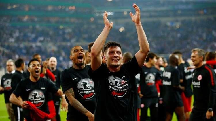 آينتراخت فرانكفورت يبلغ نهائي كأس ألمانيا.. (فيديو)