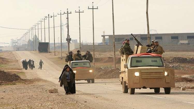 بغداد تنفي سيطرة