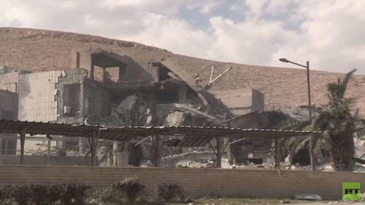 مسؤول سوري: مركز البحوث بدمشق دمر بالكامل والكيميائية فتشته عام 2013
