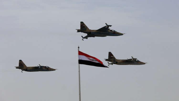 سلاح الجو العراقي يشن غارات على مواقع لـ
