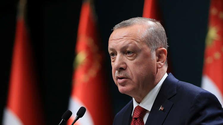 أردوغان يدعو إلى تجنب تصعيد التوتر في سوريا خلال المرحلة المقبلة