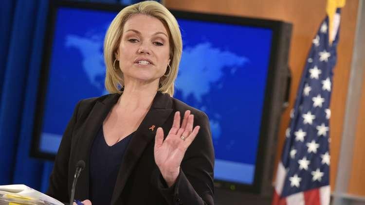الخارجية الأمريكية تتهم موسكو ودمشق بإزالة آثار هجوم دوما لإخفاء الأدلة