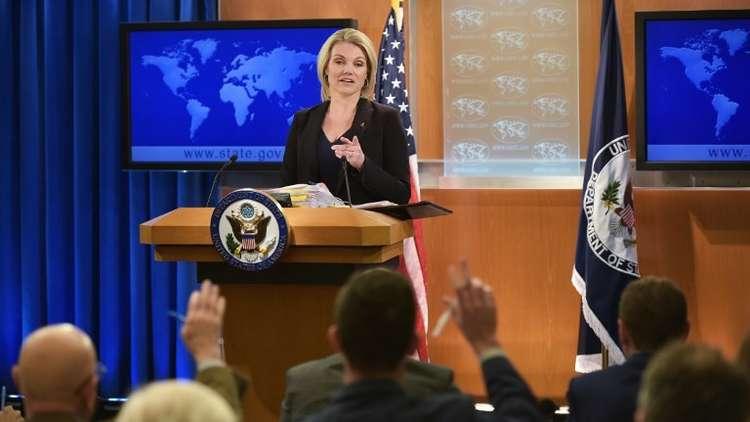 المتحدثة باسم وزارة الخارجية الأميركية هيذر نويرت