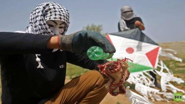 بالصور.. فلسطينيون يبتكرون أساليب جديدة للمقاومة