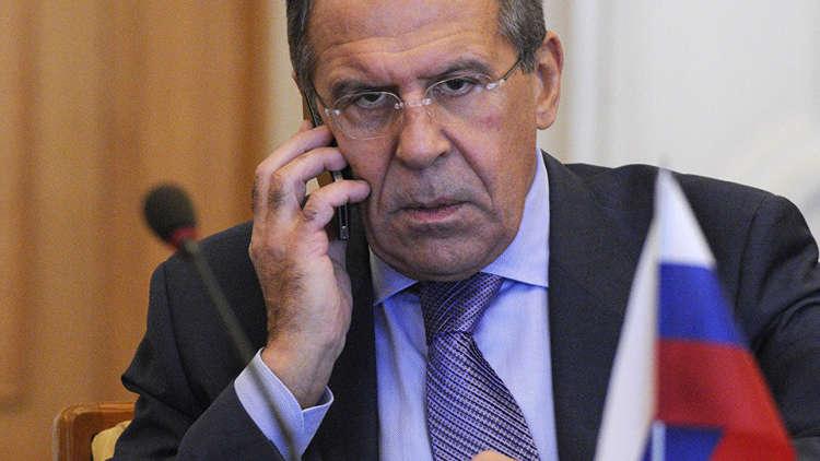 لافروف يبحث مع نظيره الألماني الملفين السوري والأوكراني