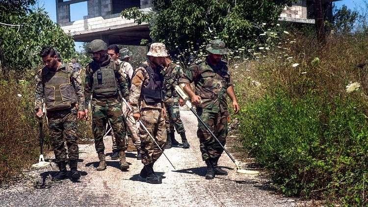 مصادر لـ RT: مقتل 12 عسكريا سوريا شمالي اللاذقية