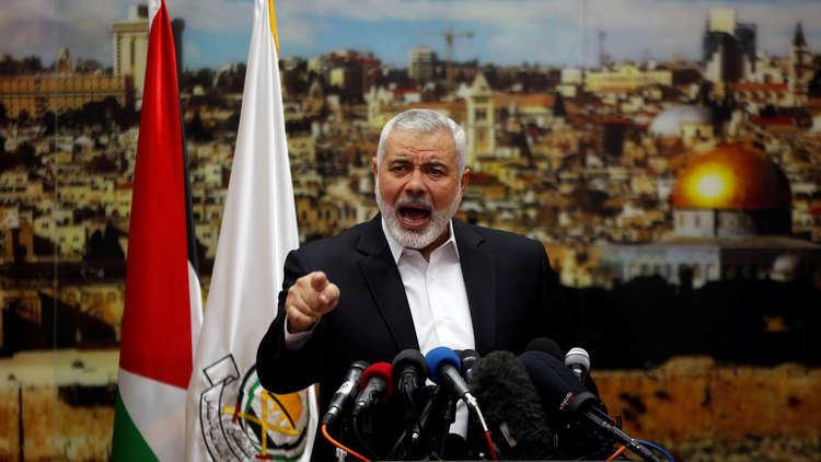هنية يدعو الفلسطينيين للنفير في