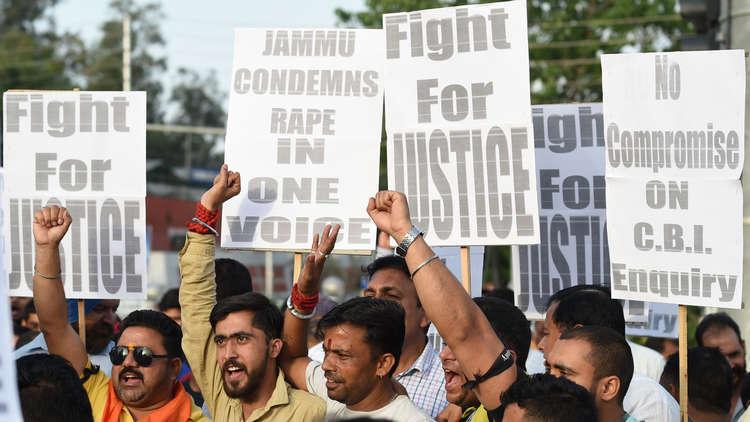 شمال الهند على وشك انفجار طائفي بعد اغتصاب طفلة مسلمة عمرها 8 سنوات
