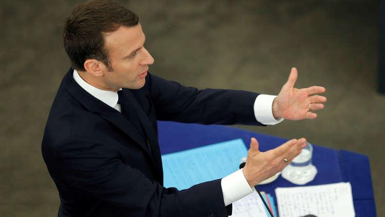 ماكرون: على فرنسا وأمريكا وحلفائنا البقاء لبناء سوريا جديدة