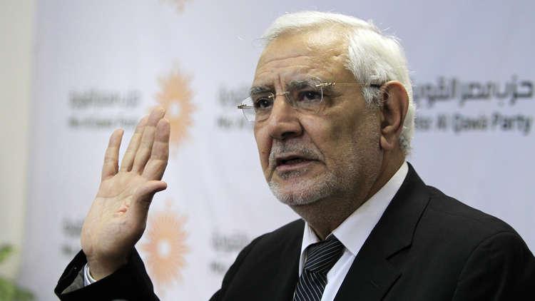حمدين صباحي: أبو الفتوح تعرض لذبحة صدرية في محبسه