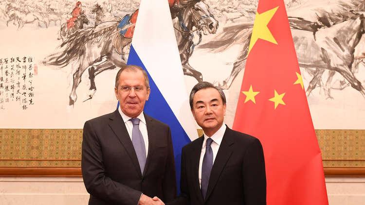 لافروف: الشراكة مع الصين أولوية للسياسة الخارجية الروسية