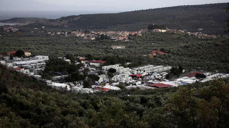 مواجهات بين الشرطة واللاجئين في جزيرة لسبوس اليونانية