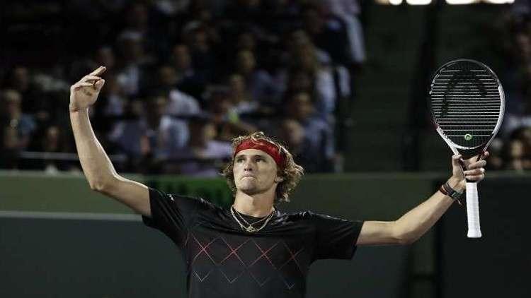 زفيريف يتقدم في التصنيف العالمي للاعبي التنس