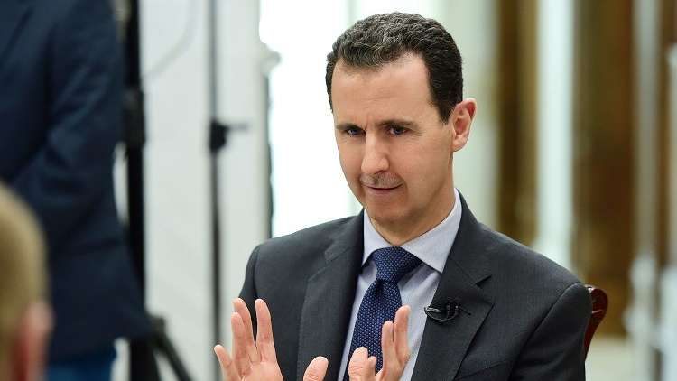 الرئاسة السورية تنفي تصريحات ملفقة على لسان الأسد