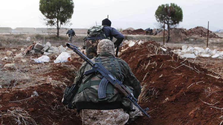 معارك ضارية بين المعارضة السورية و