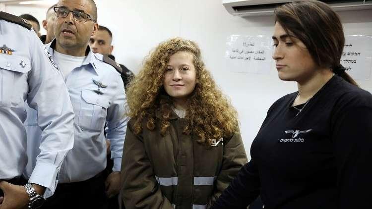 عضو في الكنيست: كان يجب إطلاق النار على عهد التميمي بدلا من سجنها