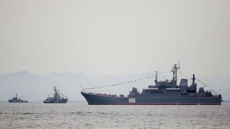 أربع سفن عسكرية روسية تتجه إلى المتوسط