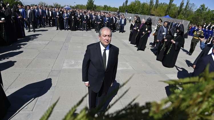 عشية ذكرى ضحايا مجزرة الأرمن.. الأسد يستقبل ممثلي الأقلية الأرمنية في سوريا