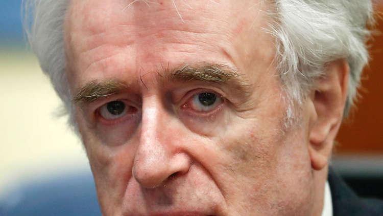 الادعاء العام يطالب بالمؤبد لزعيم صرب البوسنة السابق كاراديتش