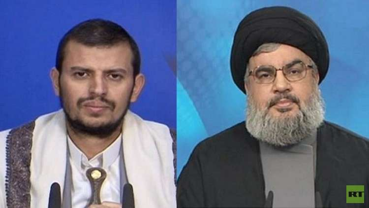 نصرالله يعزي عبد الملك الحوثي في مقتل الصماد
